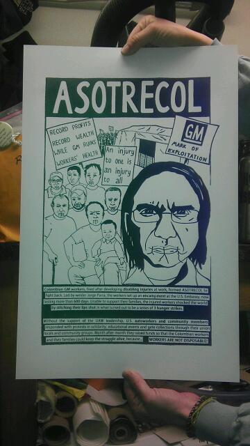 ASOTRECOL Solidarity Print